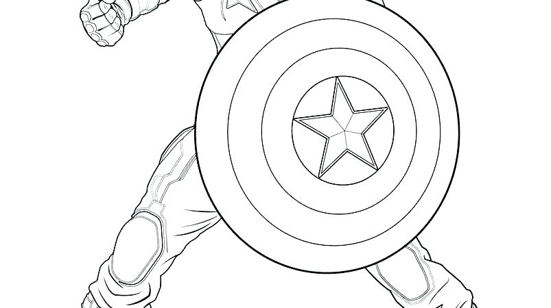 803x450 Captain America Printable Coloring Pages Captain Printable