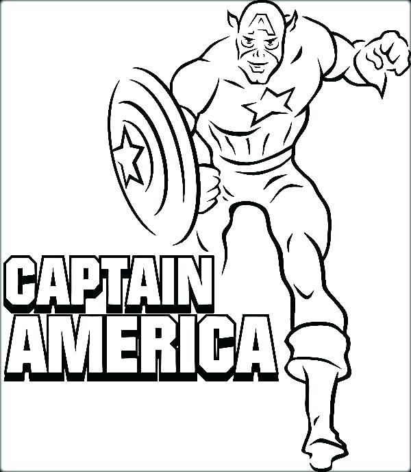 600x688 Captian America Coloring Pages Captain Coloring Page Captain