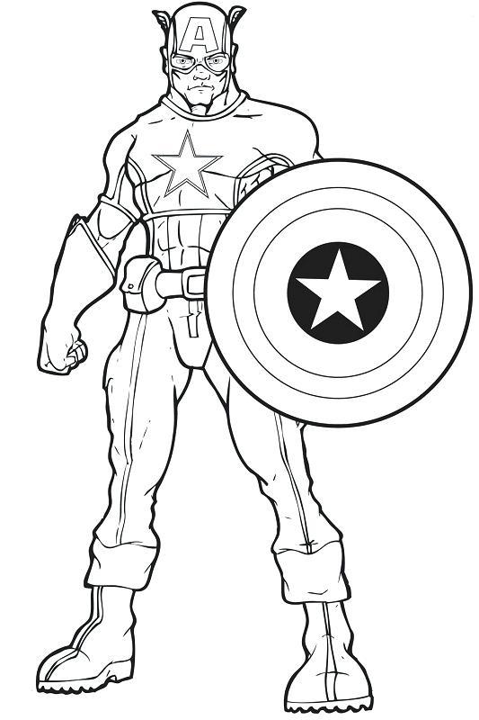 533x800 Captain America Coloring Page Captain Coloring Pages Lego Captain