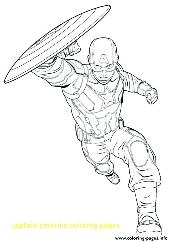 593x832 Captain America Coloring Page Captain Coloring Pages With Captain