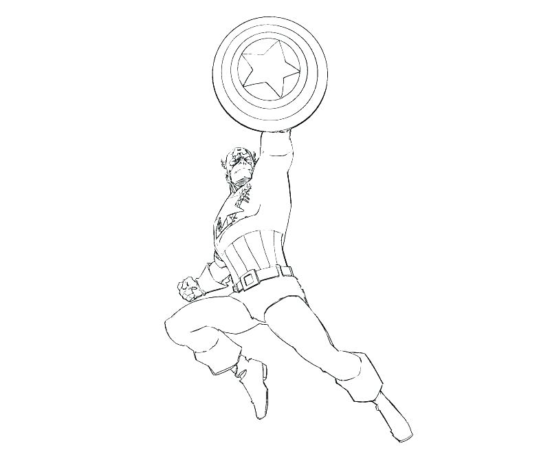 800x667 Captain America Coloring Picture Captain America Coloring Pages