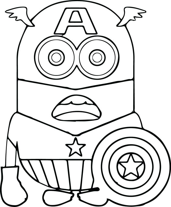660x800 Captain America Coloring Page Captain Shield Coloring Page Free