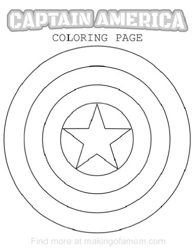 380x490 Captain America Coloring Pages Y