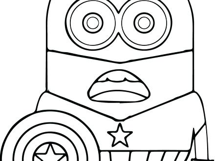 440x330 Captain America Shield Coloring Page Captain Shield Coloring Pages