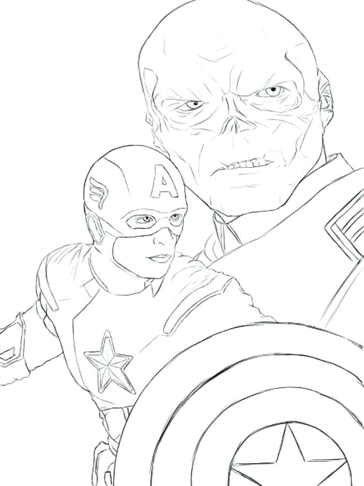 750x1000 Coloring Pages Captain America Captain Coloring Page Captain
