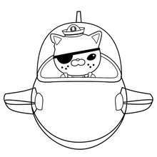Captain Barnacles Coloring Pages
