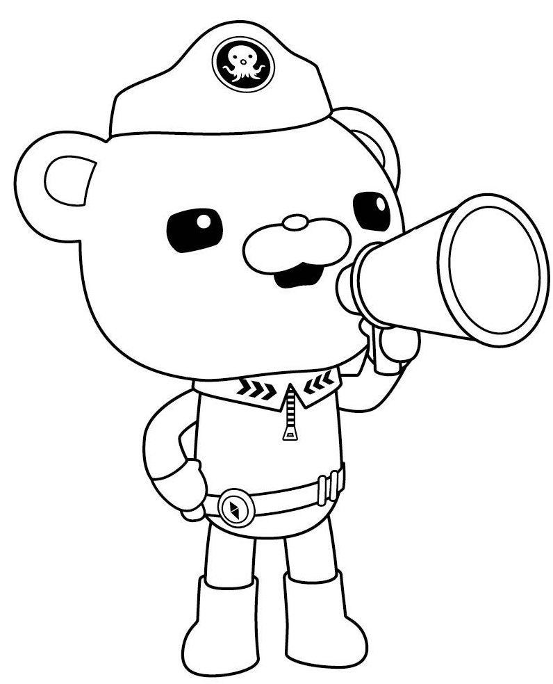 Best Of Octonauts Kwazii Coloring Pages | JColor
