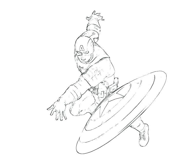800x667 Captain Marvel Coloring Pages Panther Coloring Page The Black
