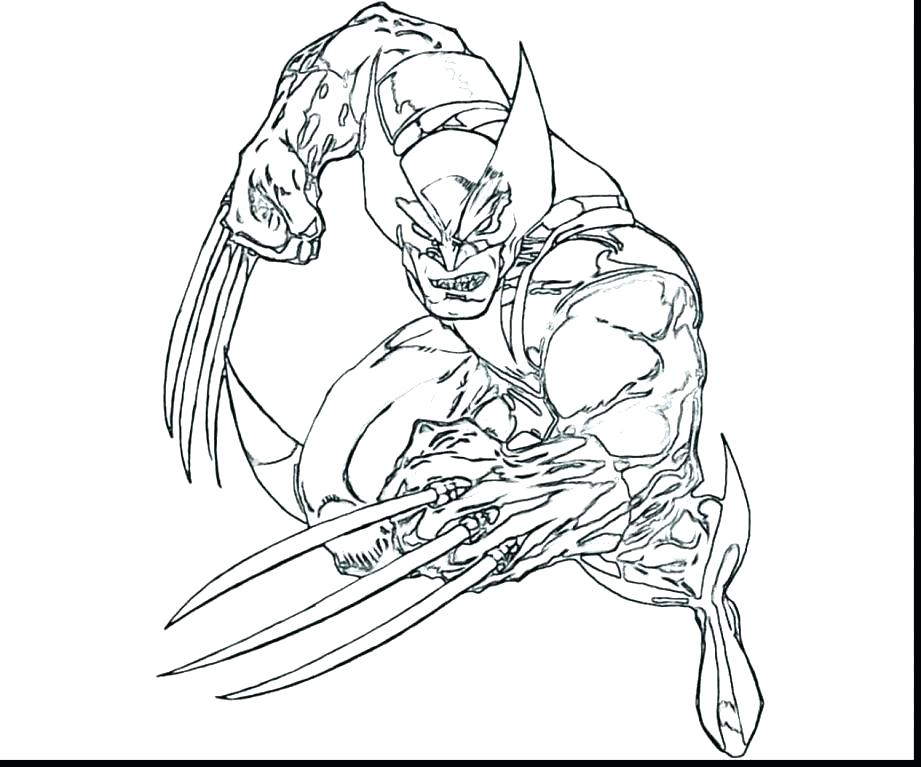 921x767 Wolverine Coloring Pages Printable Wolverine Color Pages Captain