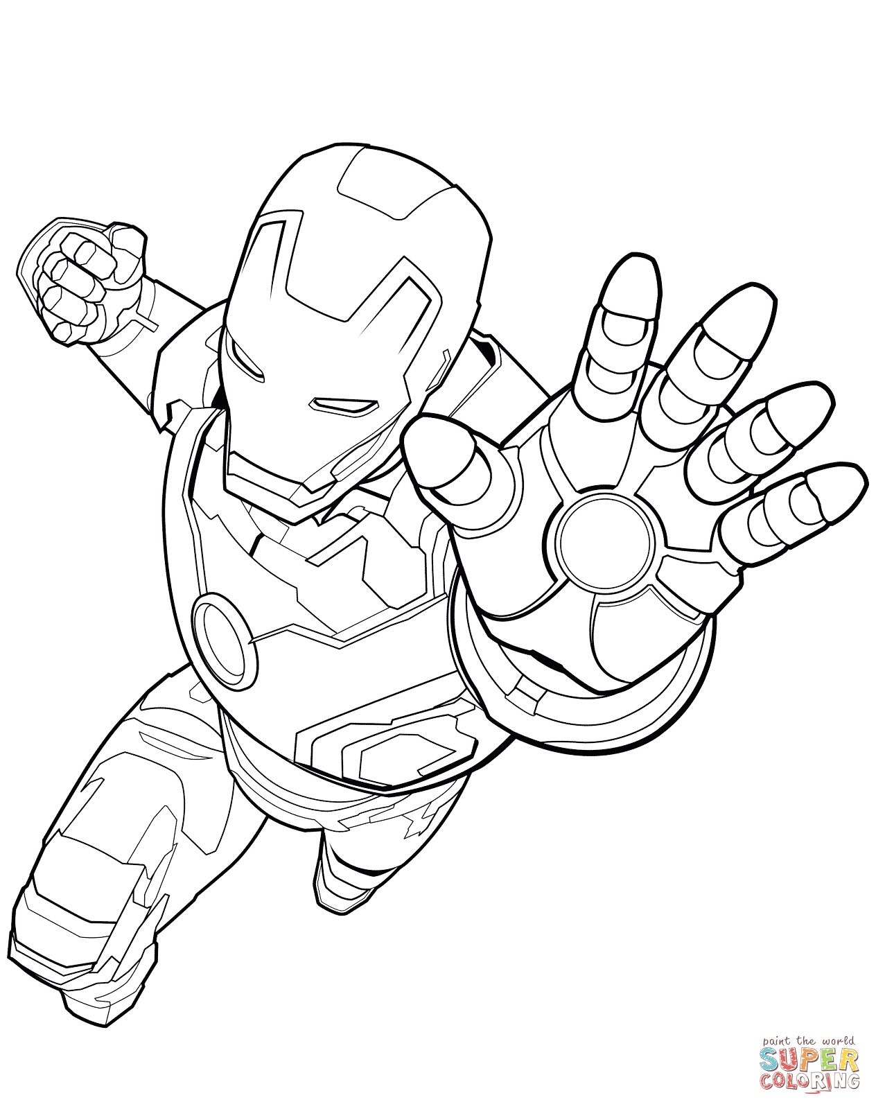 Captain Marvel Coloring Pages At Getdrawings Com Free For Personal
