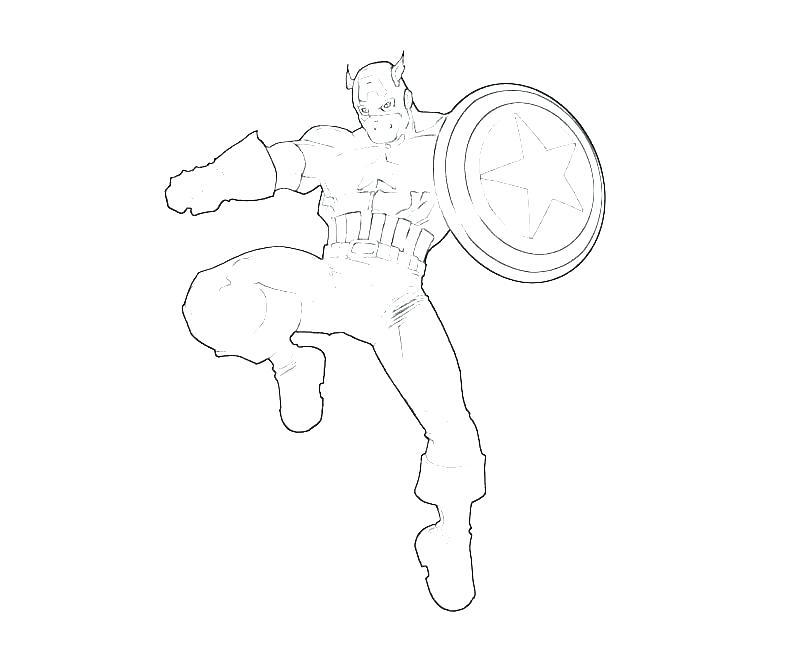 800x667 Captain America Color Pages Captain Marvel Coloring Pages Captain