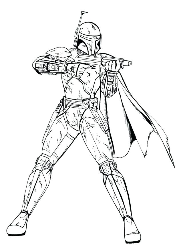 Captain Rex Coloring Pages At Getdrawings Com Free For Personal