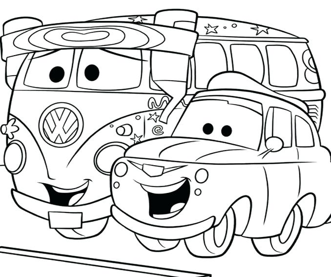 678x567 Cars Coloring Pages Simple Car Coloring Pages Cars Colouring