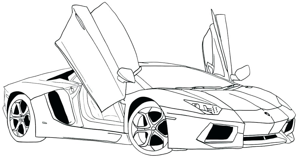 Car Coloring Pages For Adults At Getdrawings Com Free For Personal