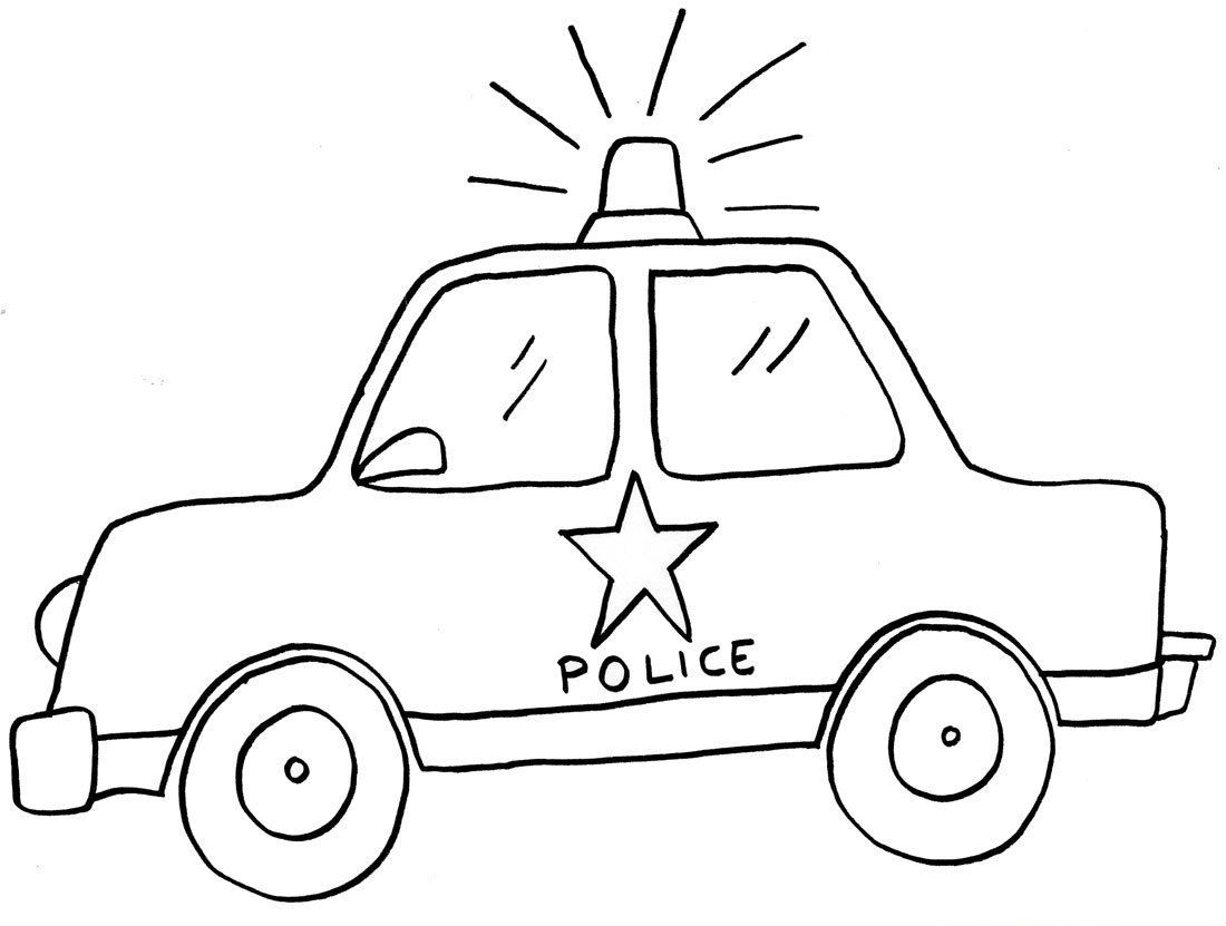 Car Coloring Pages For Preschoolers At Getdrawings Com Free For