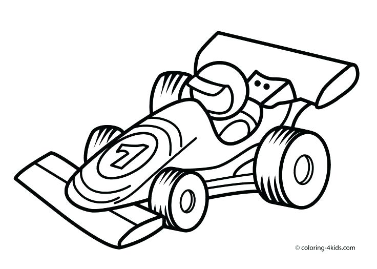 736x525 Coloring Page Free Coloring Race Car Coloring Pages For Toddlers