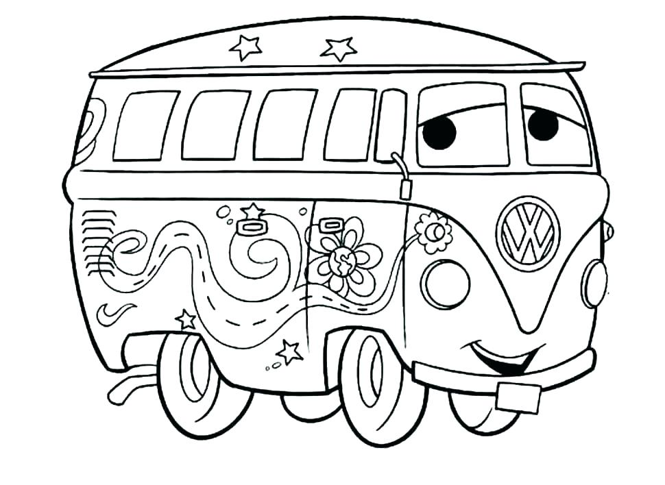 970x708 Car Coloring Pages For Kindergarten Kids Coloring Printable Car