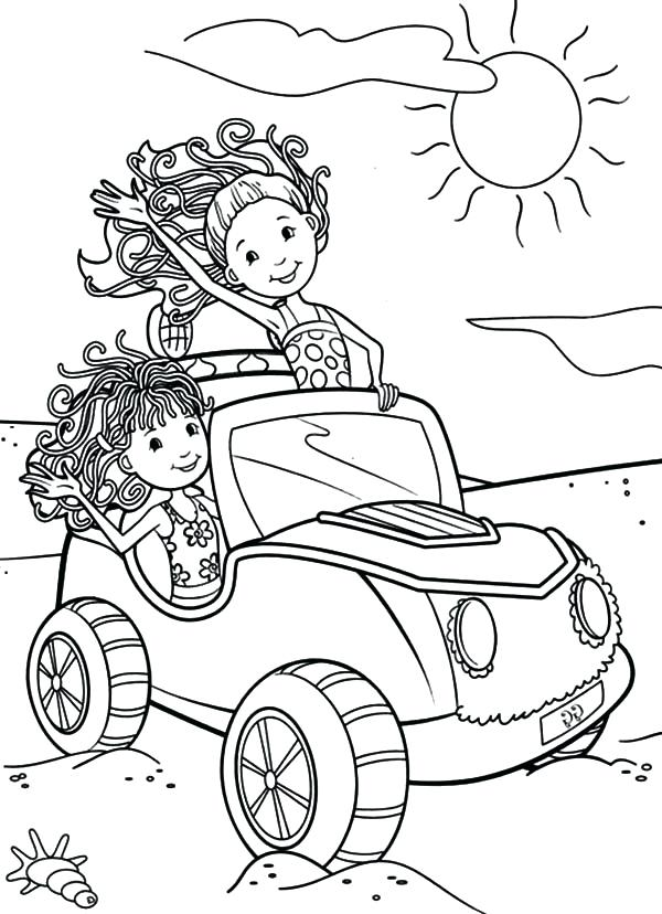 600x828 Girls Printable Coloring Pages Car Coloring Pages For Girls