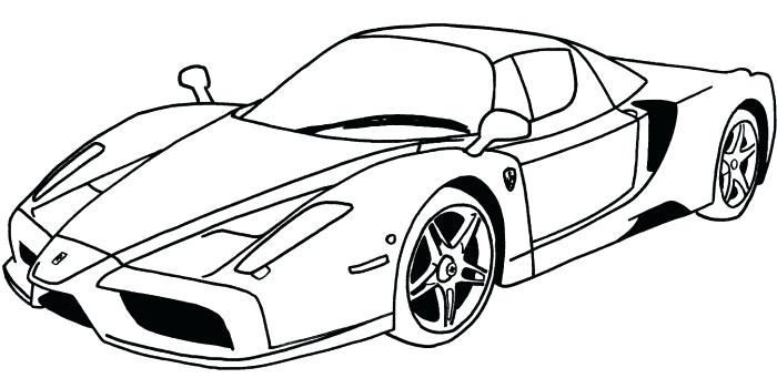 700x341 Sports Car Coloring Page Sports Car Coloring Pages S Printable