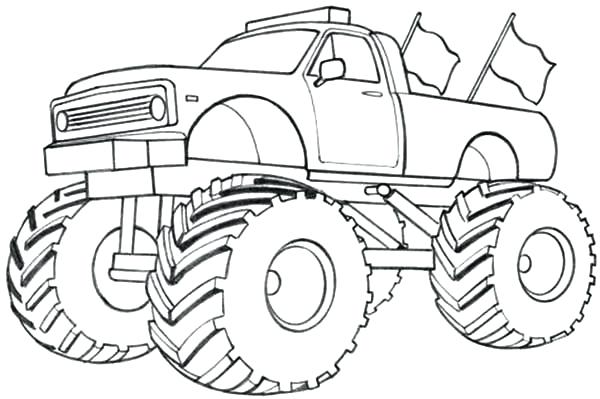600x399 Car Coloring Pages