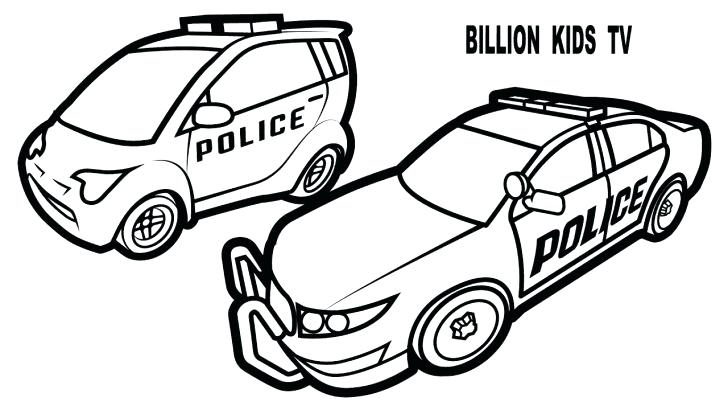 728x410 Car Coloring Page Medium Size Of Police Car Coloring Page
