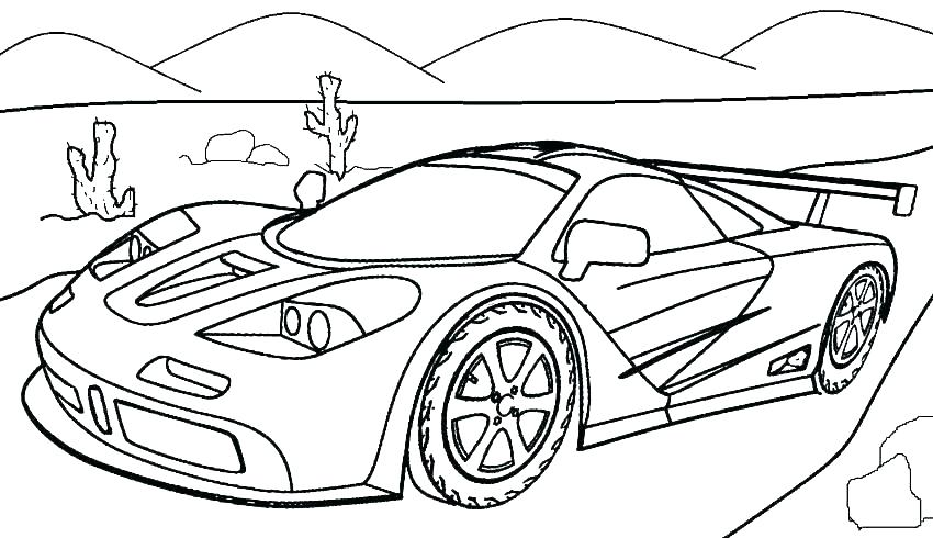 850x490 Awesome Car Colouring Pages Car Coloring Pages Car Printable