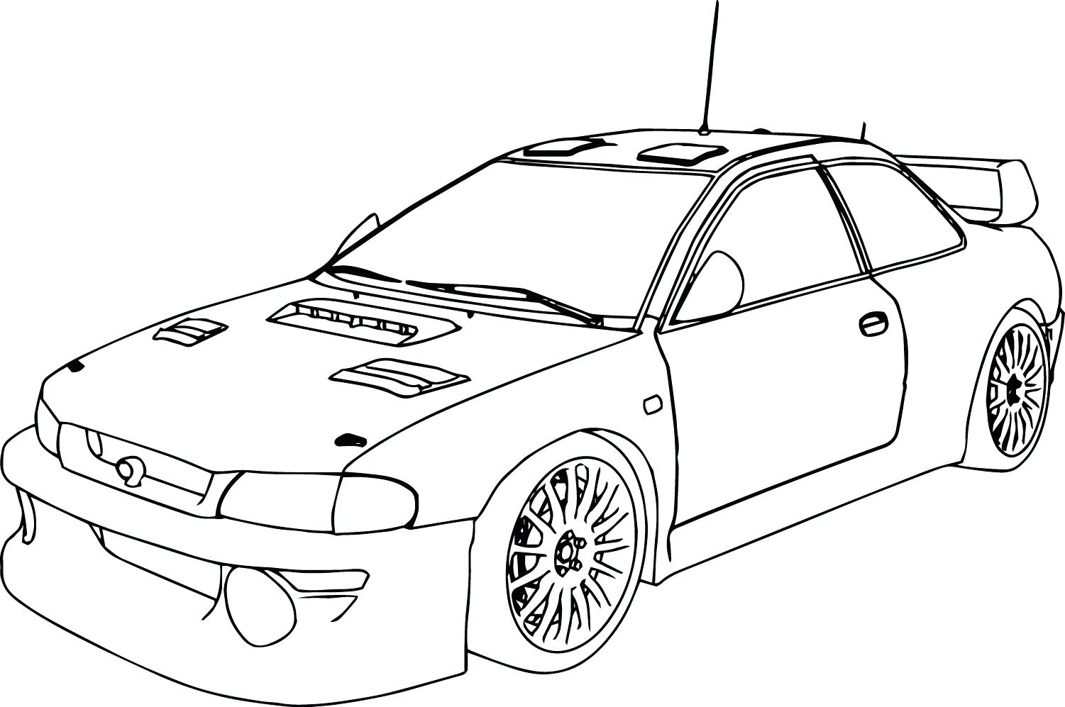 1501x997 Coloring Pages For Adults Only Page Car Crash Drawing Crashed Cars
