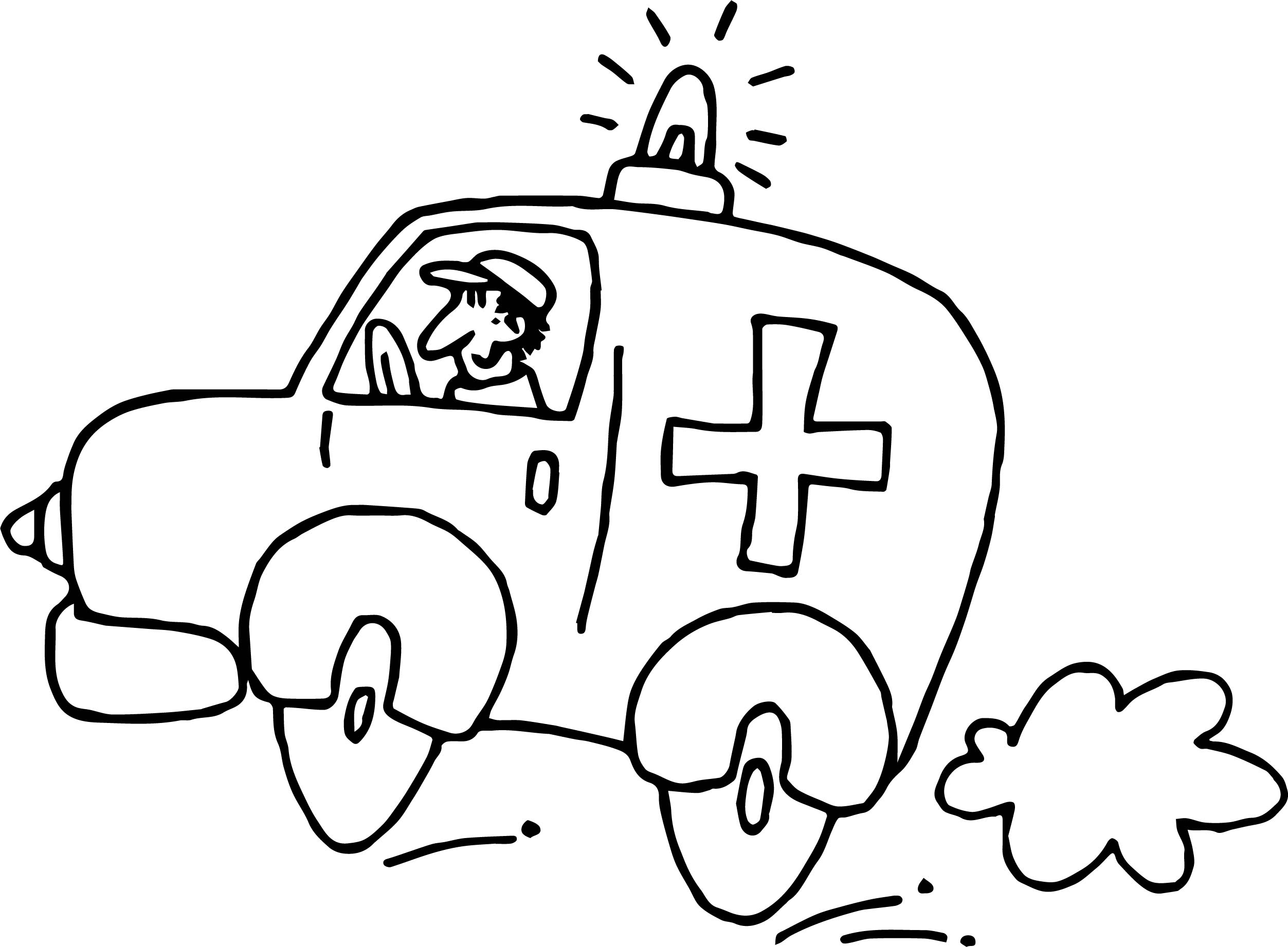 2505x1843 Fresh Ambulance Car Coloring Pages Vehicle Coloring Page