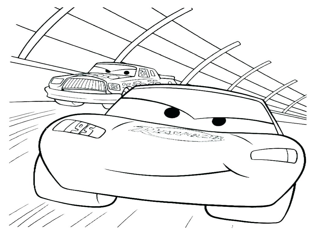 1024x767 Racing Coloring Pages