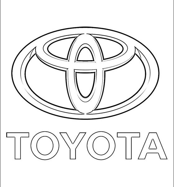 560x600 Car Logo Coloring Pages Coloring Page