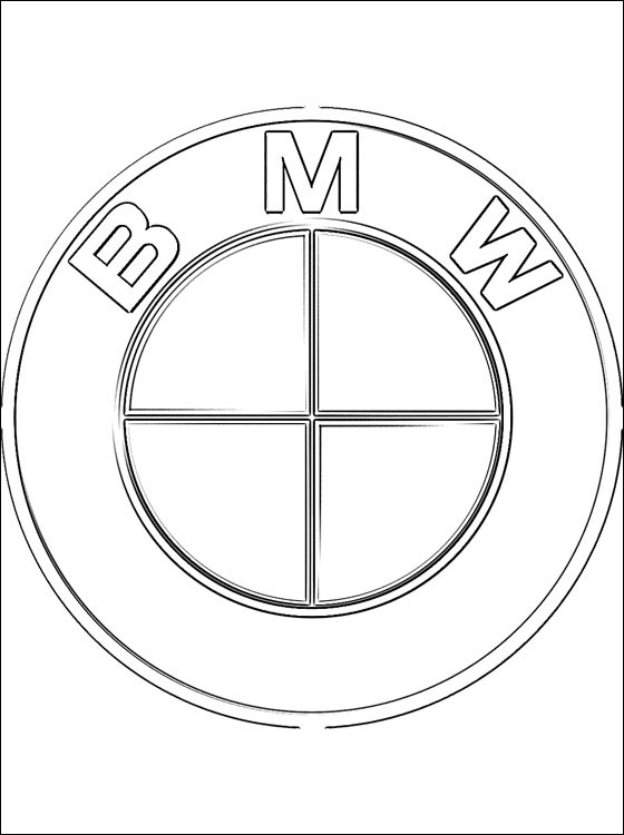560x750 Coloring Page Bmw Coloring Pages