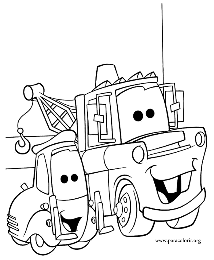 Car Truck Coloring Pages