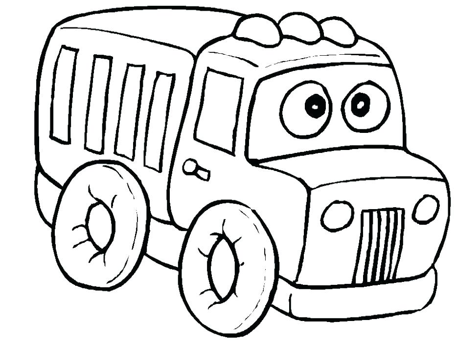 934x700 Coloring Pages Truck Cars And Trucks Coloring Pages S Daycare Cars
