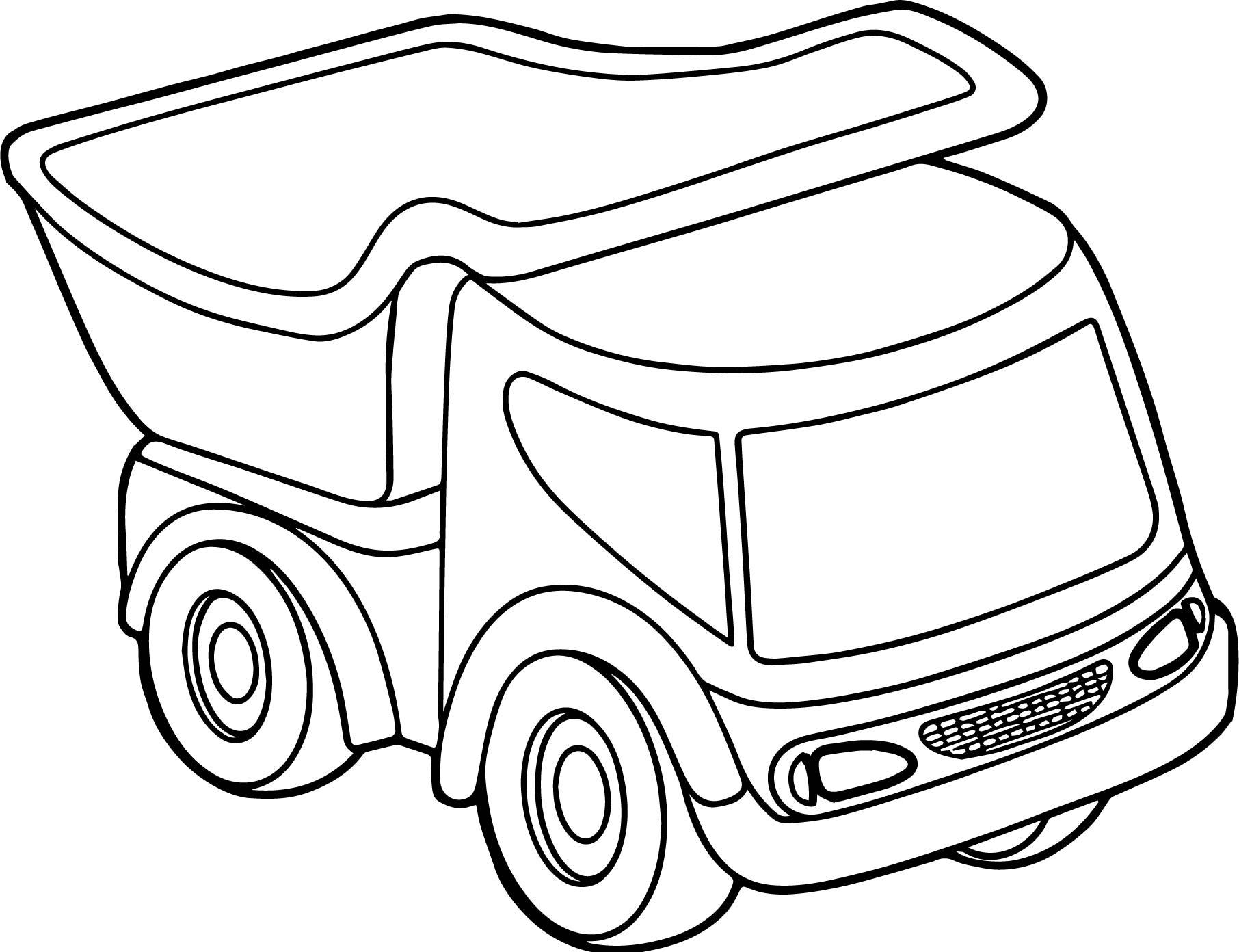 1812x1392 Appealing Toy Car Truck Coloring Page Wecoloringpage Pics