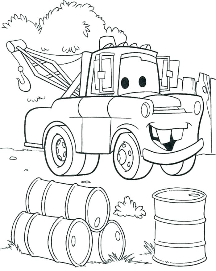 700x881 Monster Tow Truck Coloring Pages Also Monster Tow Truck Coloring
