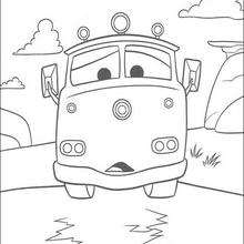 220x220 Red The Fire Truck Coloring Pages