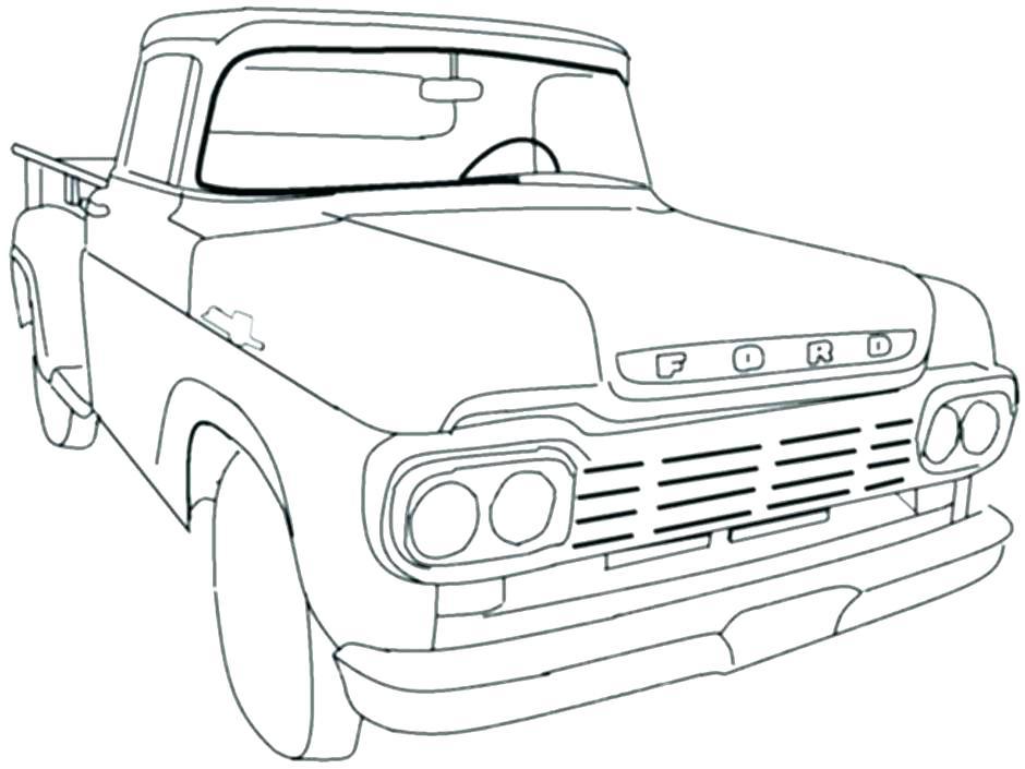 940x705 Mack Truck Coloring Pages Free Vanda