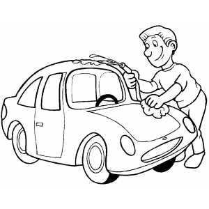 coloring pages carwash - photo#25