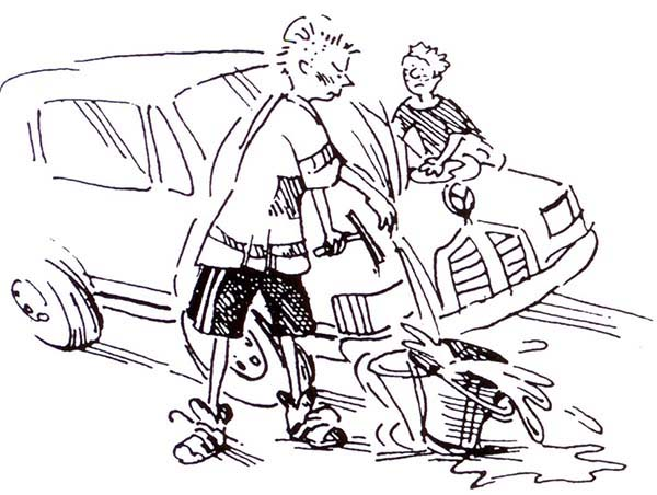 600x452 Two Brothers Car Wash Coloring Pages Best Place To Color