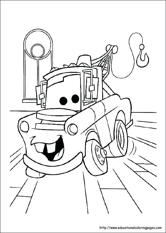 567x794 Car Color Page Car Coloring Sheets For Kids Car Wash Coloring Page