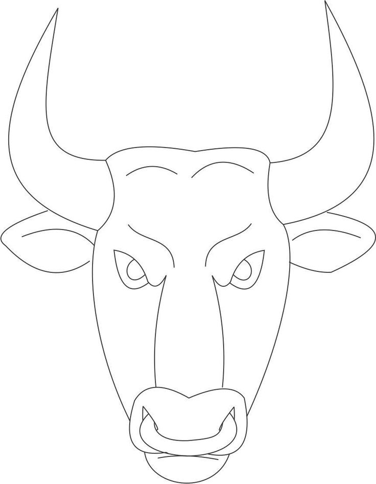 Carabao Coloring Pages