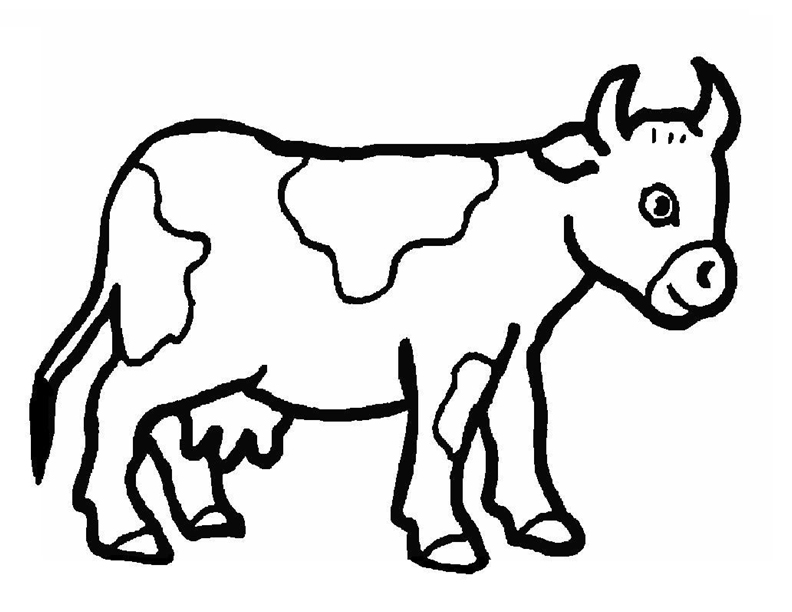 792x612 Free Dairy Cow Clipart