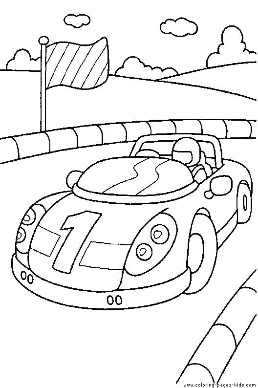 528x794 Coloring Picture Of A Car