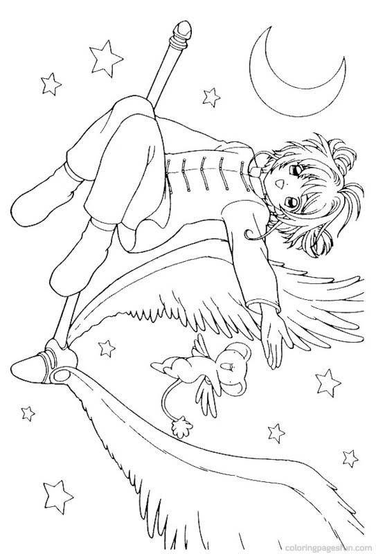 543x800 Best Coloriages Sakura Images On Colouring Pages