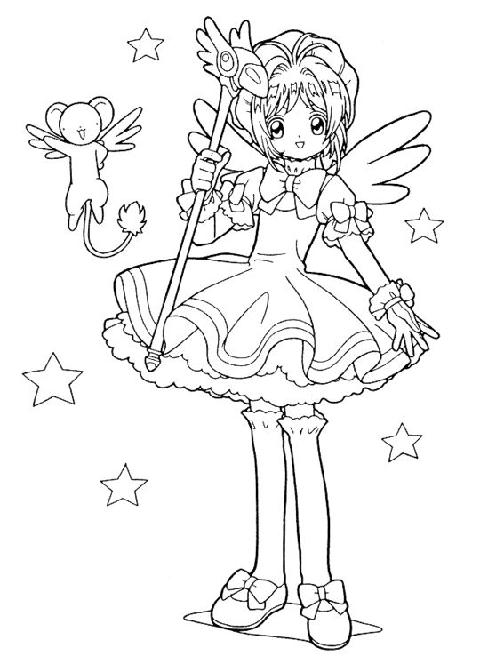 540x756 Coloring Pages Girly