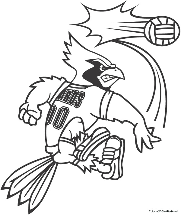 Cardinals Football Coloring Pages At Getdrawings Free Download