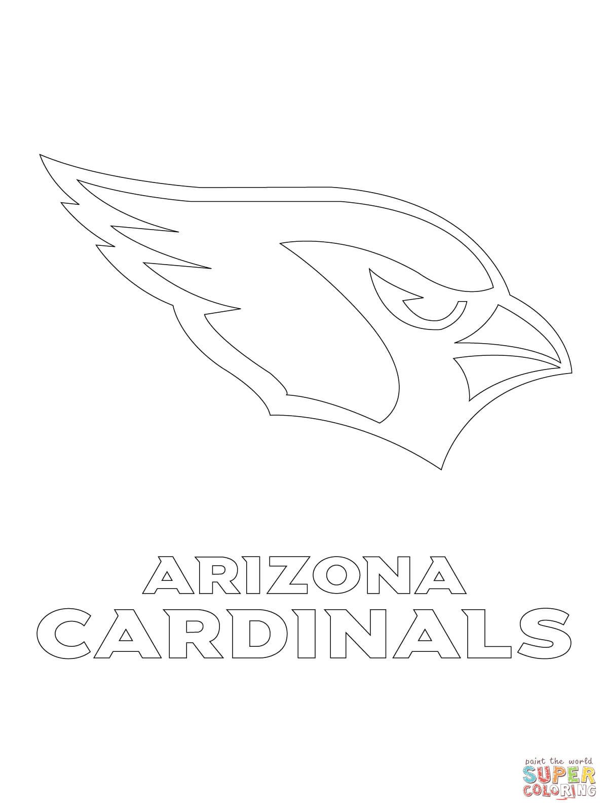 1200x1600 Click The Arizona Cardinals Logo Coloring Pages Page Free