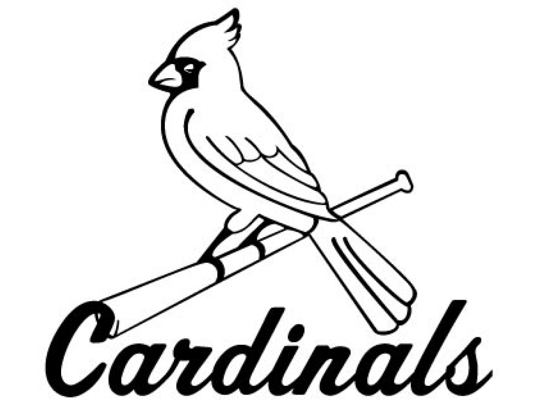 1074x808 New Custom Screen Printed Tshirt St Louis Cardinals M L B Baseball