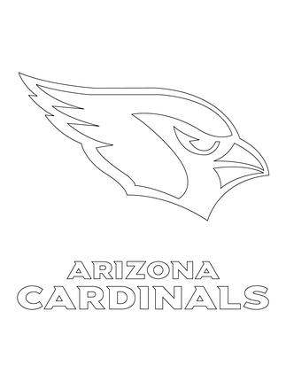 323x430 Cardinal Sports Coloring Pages