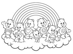 236x175 Care Bears Coloring Coloring Pages Ositos